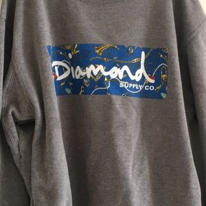 Gray Diamond Supply Co. Crewneck